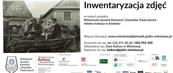 Inwentaryzacja zdjęć z terenu gminy Wiśniowa