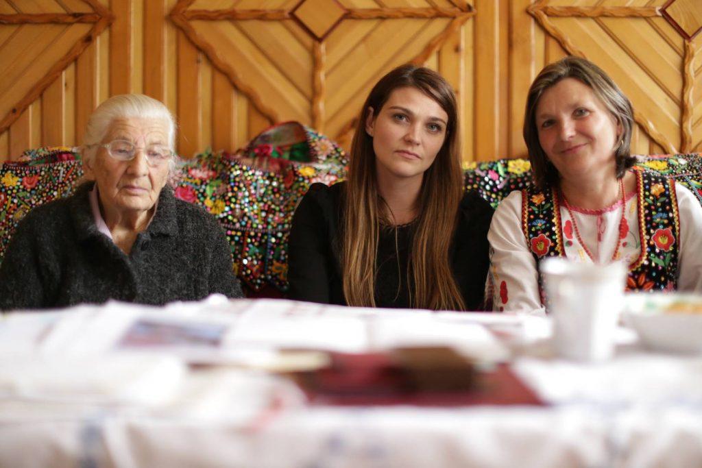 Danuta Urbanik z mama i córką fot. Anahita Rezaei